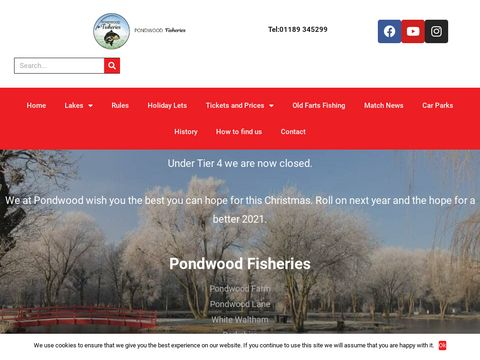 Pondwood Fisheries