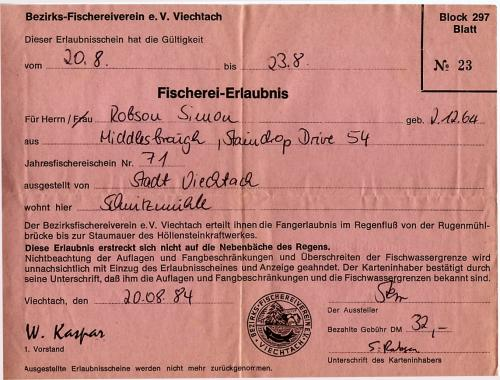 The maggotdrowners forum coarse fishing in germany for Idaho out of state fishing license